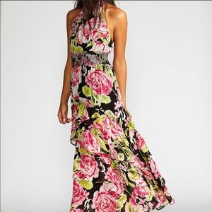 NWT In Full Bloom Floral Maxi